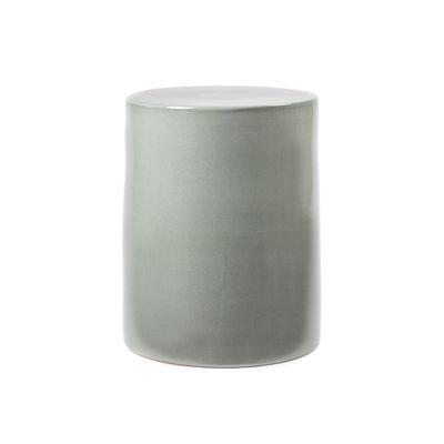 Mobilier - Tables basses - Table d'appoint Pawn / Tabouret - Ø 37 x H 46 cm - Céramique - Serax - Gris - Terre cuite émaillée