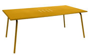 Table rectangulaire Monceau 194 x 94 cm 8 personnes Fermob miel en métal