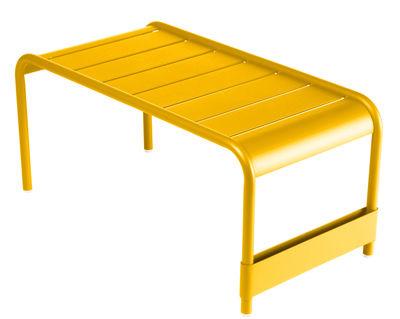 Life Style - Tavolino Luxembourg - / L 86 cm di Fermob - Miele - Alluminio laccato