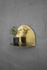 Archal Wandregal / Halbmond - L 28 cm x H 20 cm - ENOstudio
