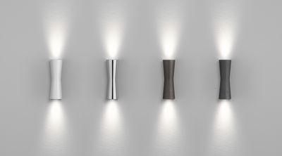 Applique clessidra ° led pour l intérieur chromé flos made