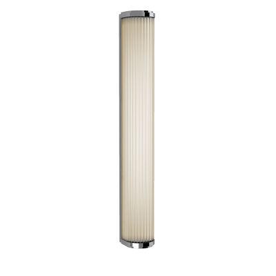 Illuminazione - Lampade da parete - Applique Versailles LED - / Lamelle di vetro - L 61 cm di Astro Lighting - Cromo - Acciaio, Vetro
