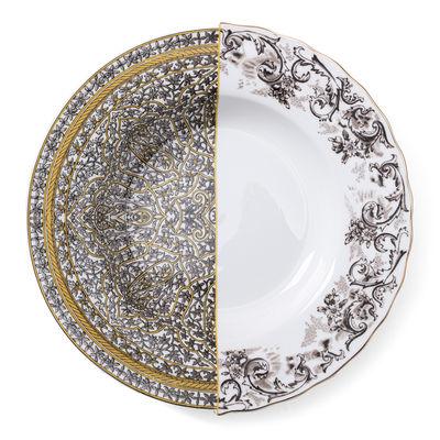 Arts de la table - Assiettes - Assiette creuse Hybrid Agroha / Ø 25 cm - Seletti - Agroha - Porcelaine