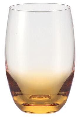 Tavola - Bicchieri  - Bicchiere da long drink Dream di Leonardo - Arancione - Vetro