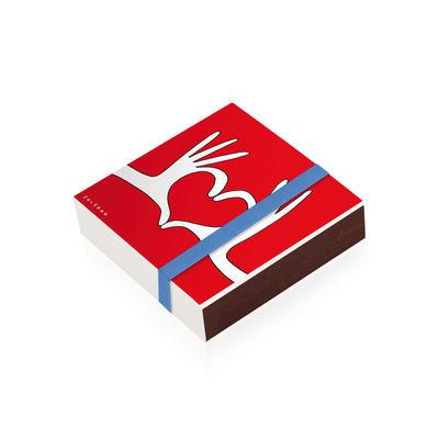 Boîte d'allumettes Soledad / 10 x 10 cm - Image Republic multicolore en papier