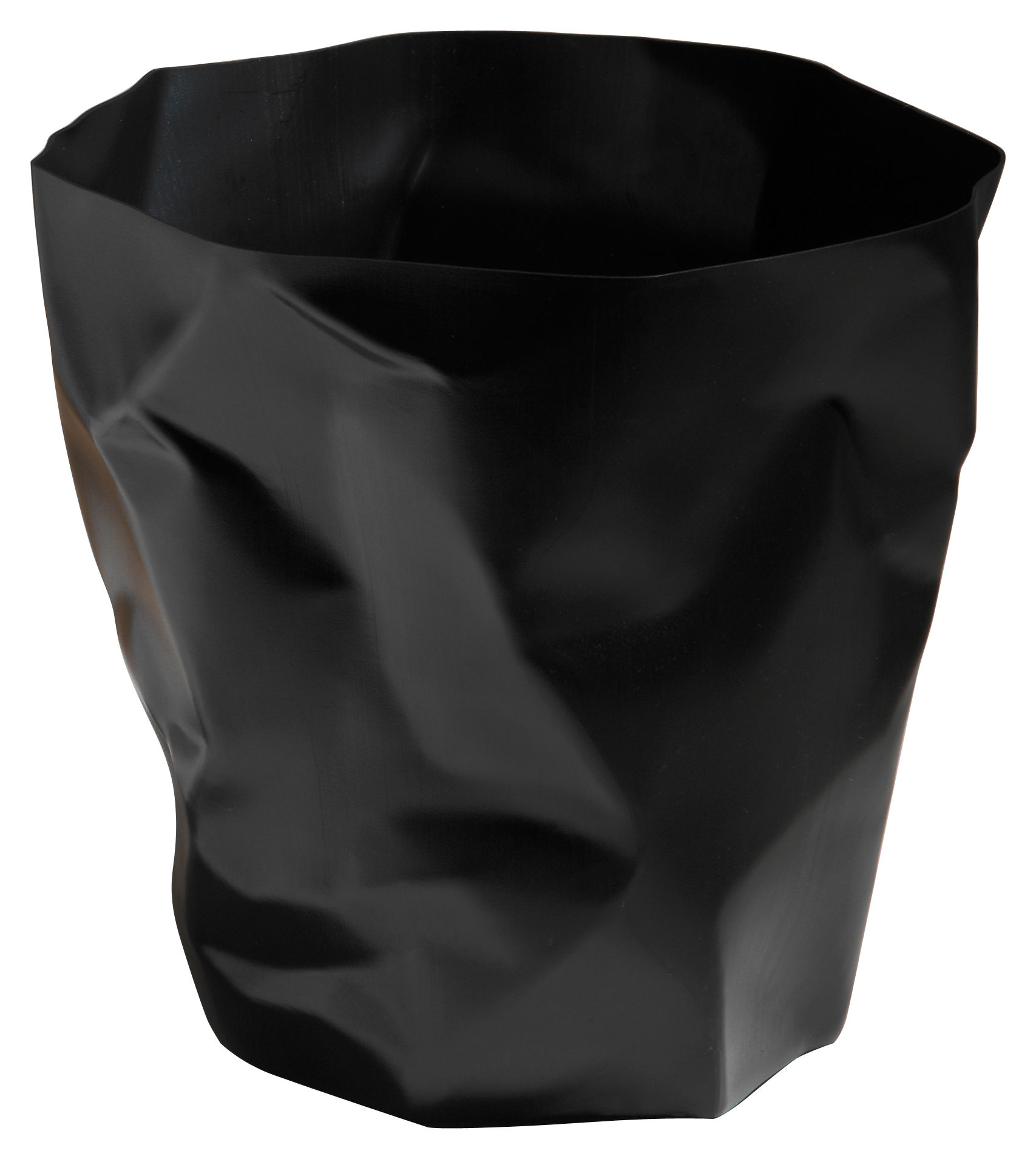 Déco - Accessoires bureau - Corbeille Bin Bin / H 31 cm - Essey - Noir - Polyéthylène