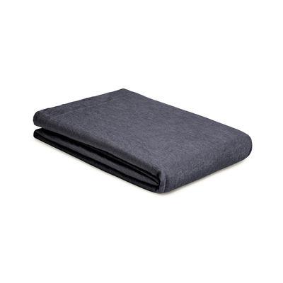 Drap plat 270 x 310 cm / Lin lavé - Au Printemps Paris gris en tissu