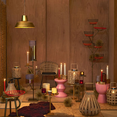 tam tam hocker kunststoff bordeaux rot by pols potten made in design. Black Bedroom Furniture Sets. Home Design Ideas