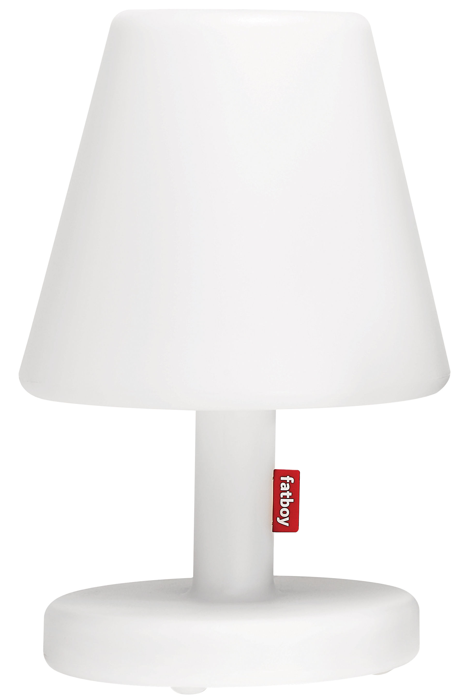 Lighting - Table Lamps - Edison the Medium Lamp by Fatboy - White - Polythene