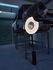 Lampada a stelo Iris - LED / H 140 cm - Tessuto & illuminazione a due facce di Dix Heures Dix
