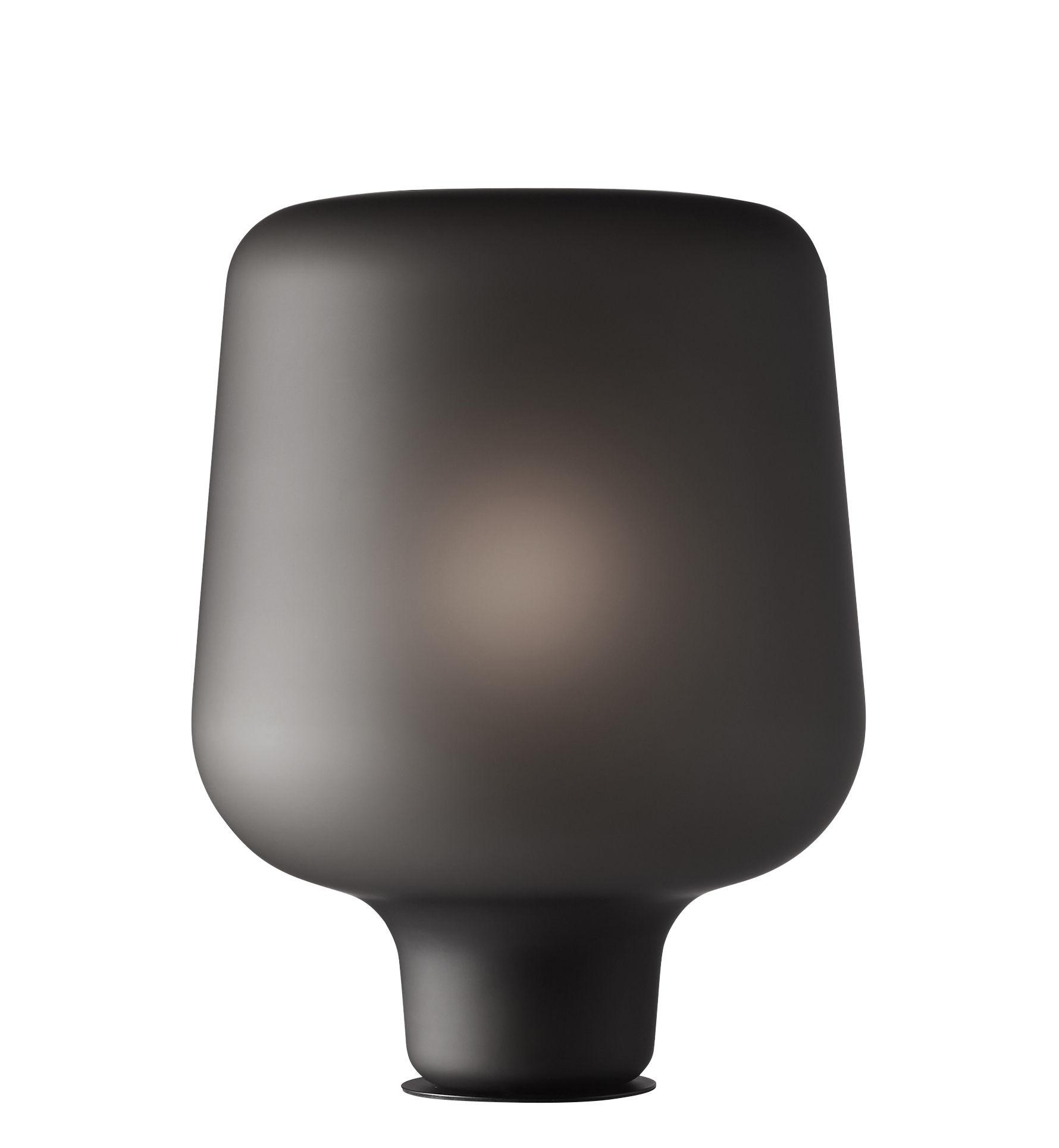 Luminaire - Lampes de table - Lampe à poser Say My Name / Verre de Murano soufflé bouche - Northern  - Gris givré - Verre de Murano soufflé bouche