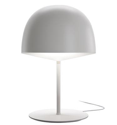 Lampe de table Cheshire - H 53 cm - Fontana Arte blanc en métal
