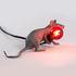 Lampe de table Mouse Lie Down #3 / Souris allongée - Seletti