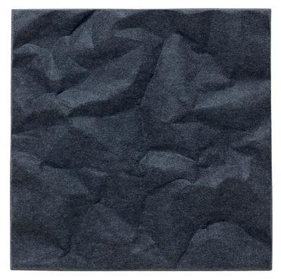 Image of Pannello acustico a muro Soundwave Scrunch di Offecct - Grigio/Nero - Materiale plastico