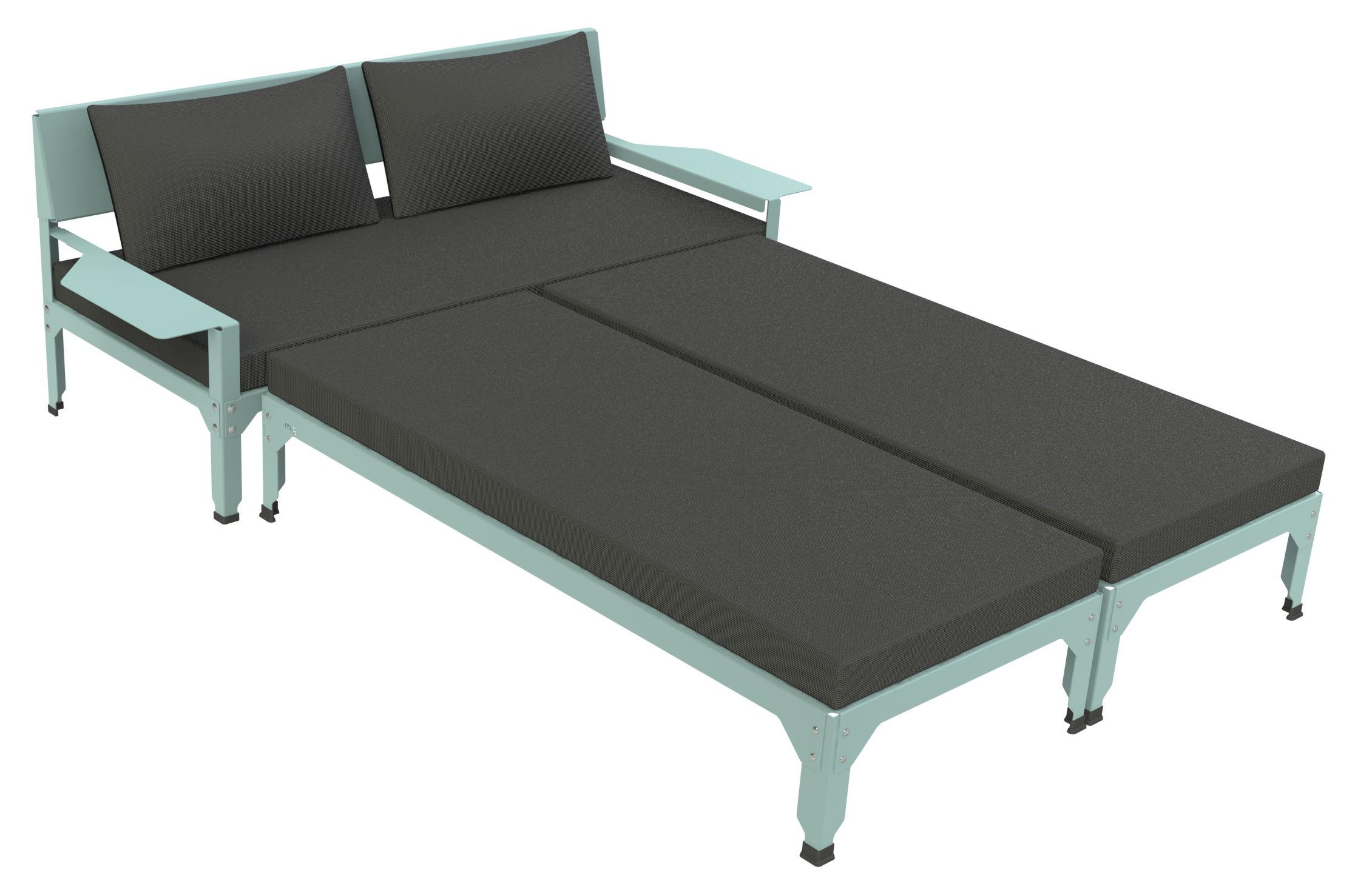 Pouf - / Estensione per divano Lounge Hegoa - 145 x 65 cm - Indoor ...