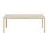 Workshop Rectangular table - / Linoleum - 200 x 92 cm by Muuto