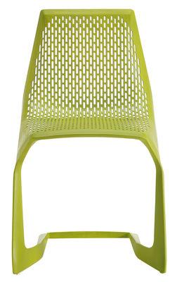 Image of Sedia impilabile Myto di Plank - Verde - Materiale plastico