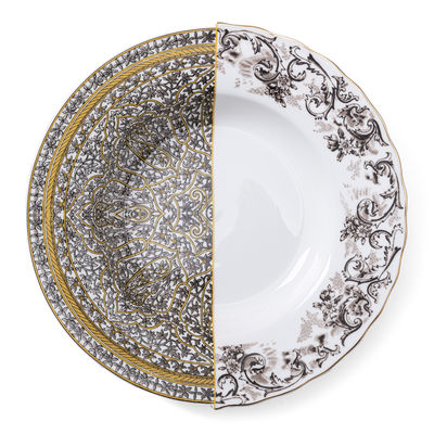 Tableware - Plates - Hybrid Agroha Soup plate - / Ø 25 cm by Seletti - Agroha - China