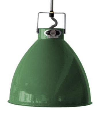 Suspension Augustin XL Ø 54 cm - Jieldé vert olive brillant en métal