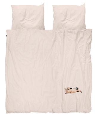 miss peggy bettw sche set f r 2 personen 240 x 220 cm schweinchen hintergrund rosa by. Black Bedroom Furniture Sets. Home Design Ideas
