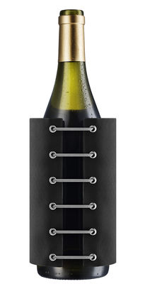 Tableware - Wine Accessories - Stay Cool Bottle cooler by Eva Solo - Black - Cooling gel, Nylon