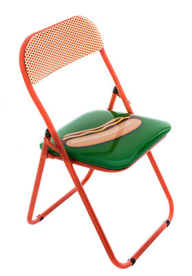Chaise Pliante Hot Dog Rembourre