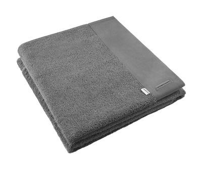 Drap de bain / 70 x 140 cm - Eva Solo gris foncé en tissu