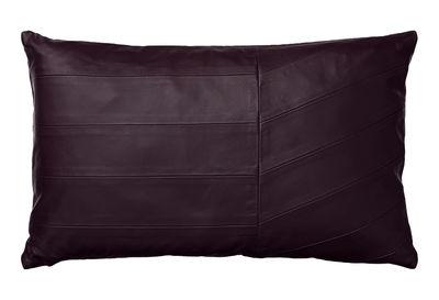 Coria Kissen / Leder - 50 x 30 cm - AYTM - Bordeaux