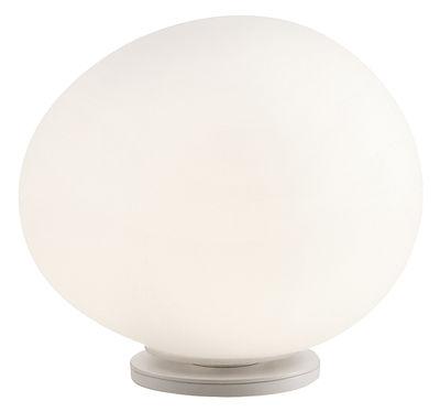 Illuminazione - Lampade da tavolo - Lampada da tavolo Gregg Media di Foscarini - Bianco - Media (L 31 cm) - metallo verniciato, vetro soffiato