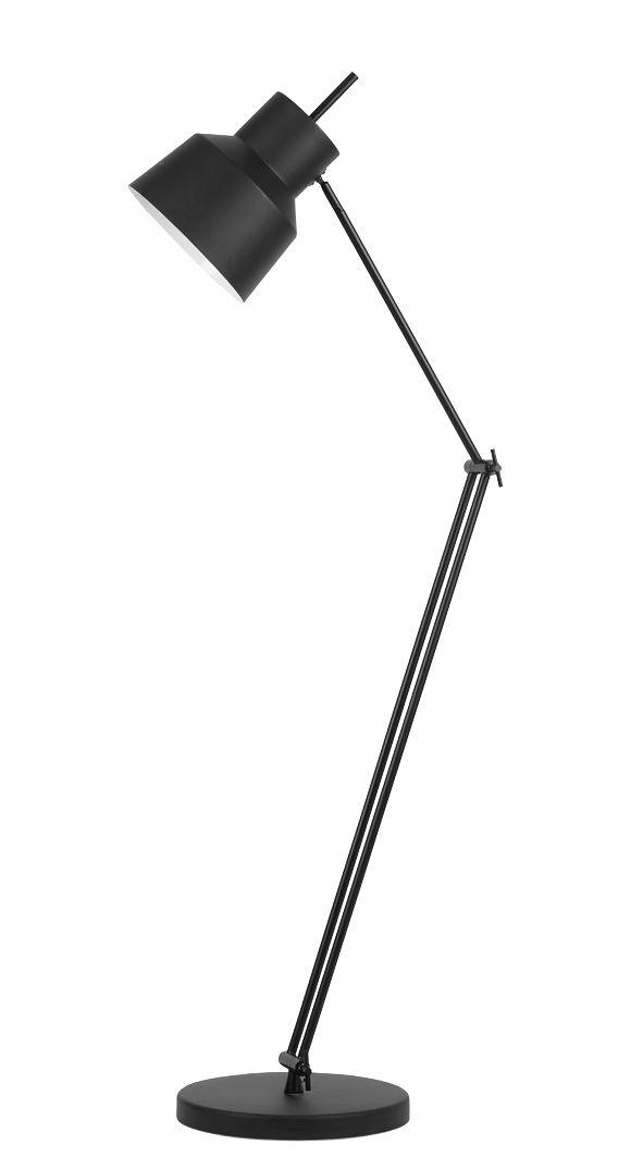 Luminaire - Lampadaires - Lampadaire Belfast / Métal - H 165 cm - It's about Romi - Noir mat - Acier peint