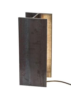 Luminaire - Lampes de table - Lampe Mais plus que cela je ne peux pas / LED INDOOR - H 35 cm - Nemo - H 35 cm / Rouille - Fer brut