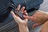 Lucchetto biometrico Nomaday Lock - / con impronta digitale - Ricarica USB di Lexon