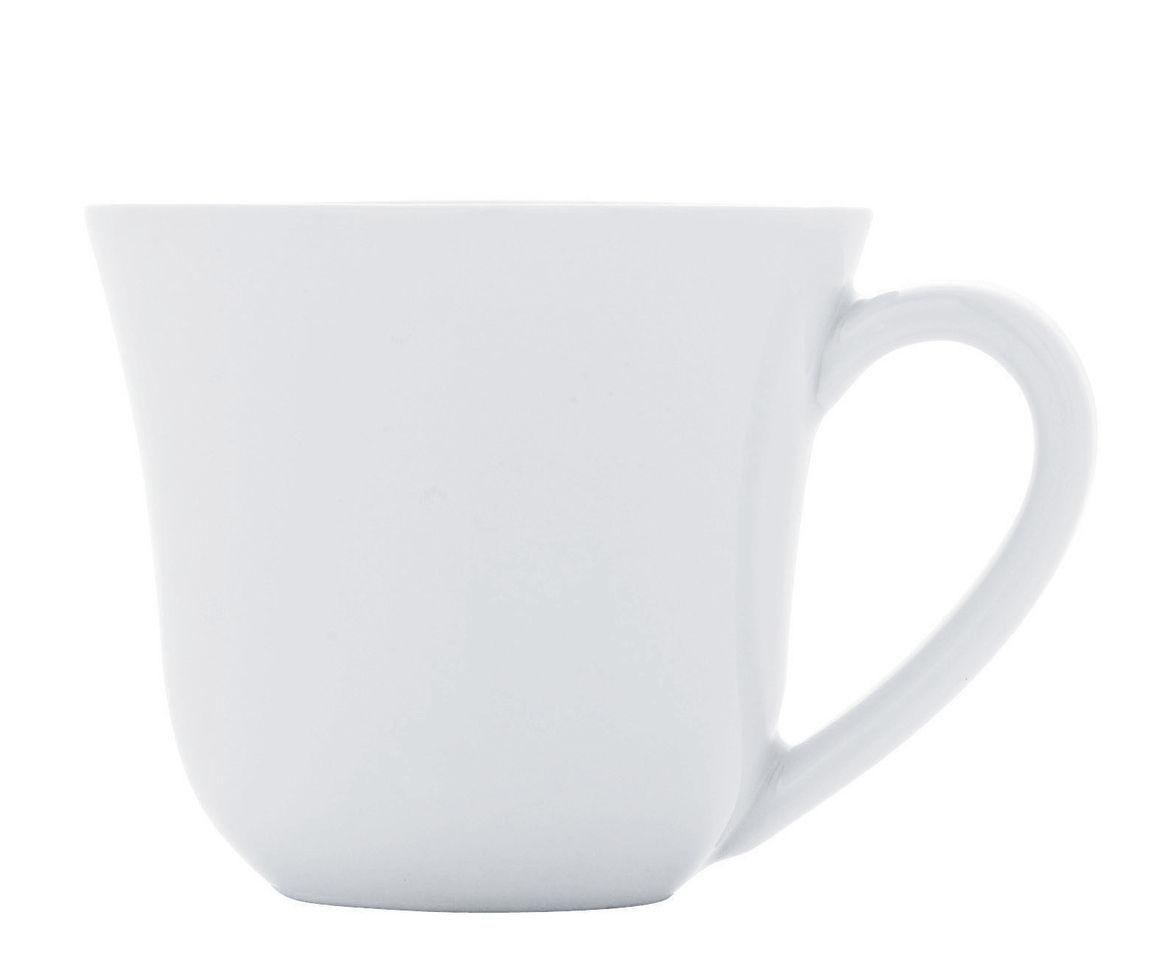 Tableware - Coffee Mugs & Tea Cups - Ku Mocha cup by Alessi - Cup / White - China