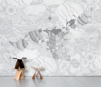 Decoration - Wallpaper & Wall Stickers - Wholearth Panoramic Wallpaper - 8 panels by Domestic -  - Intisse paper