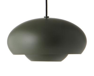 Lighting - Pendant Lighting - Champ Pendant - / Ø 37.5 cm by Frandsen - Green - Painted aluminium