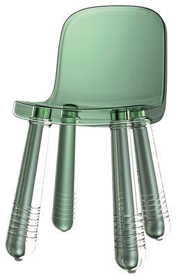 Arredamento - Sedie  - Sedia Sparkling di Magis - Verde traslucido - Polietilene