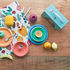 Set stoviglie per bambini Giro Kids - / 3 pezzi - Resina melaminica di Alessi