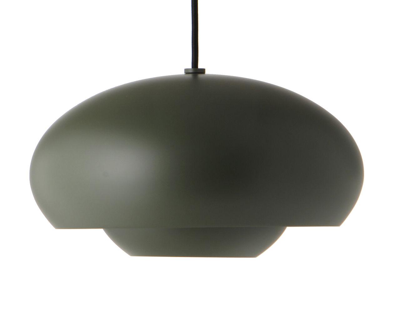 Illuminazione - Lampadari - Sospensione Champ - / Ø 37,5 cm di Frandsen - Verde - alluminio verniciato