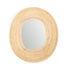 Specchio murale Killa - Ovale / 46 x 53 cm di ames