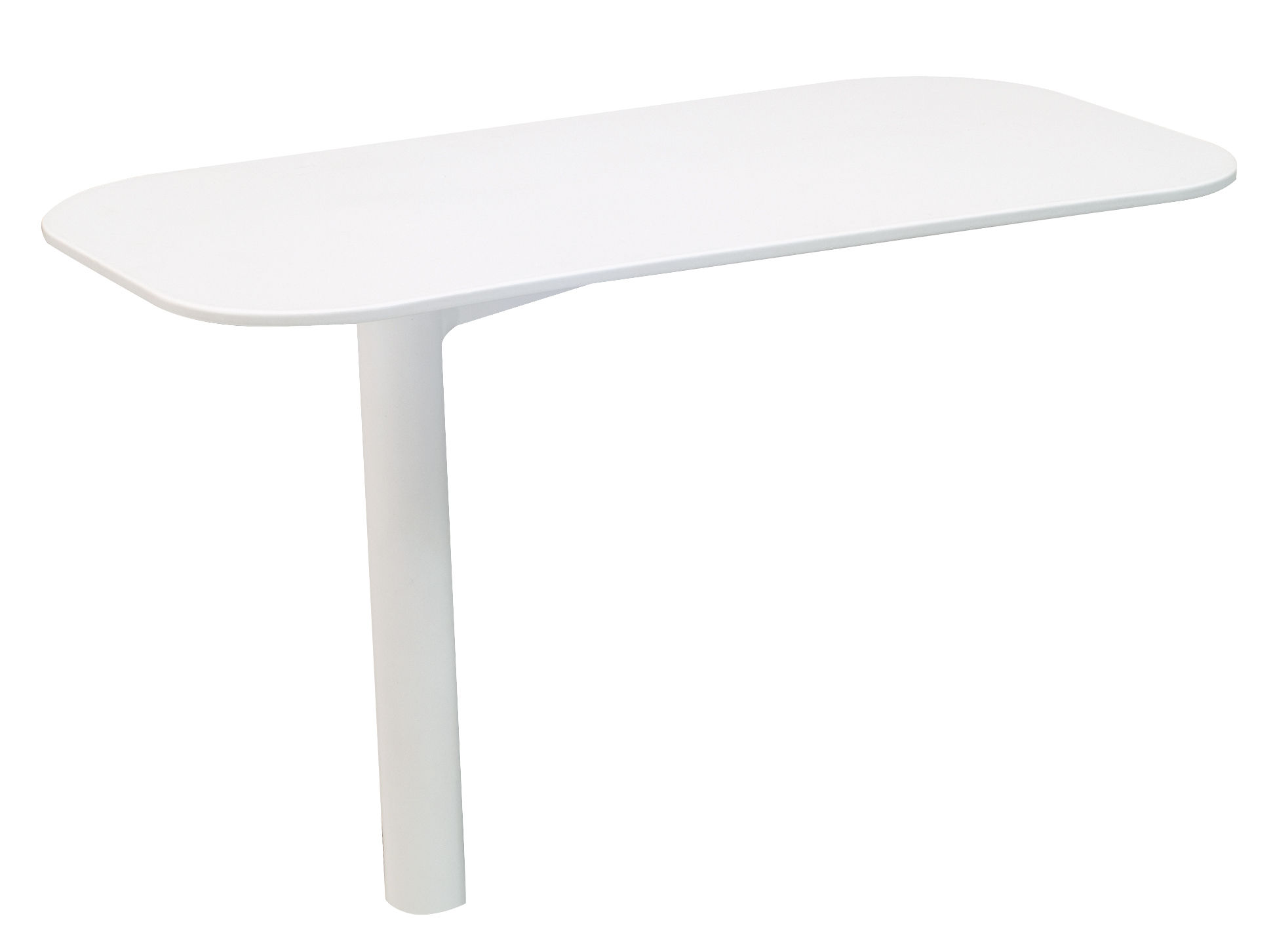 Mobilier - Canapés - Tablette pivotante / Pour modules Rivage - Vlaemynck - Blanc - Aluminium laqué