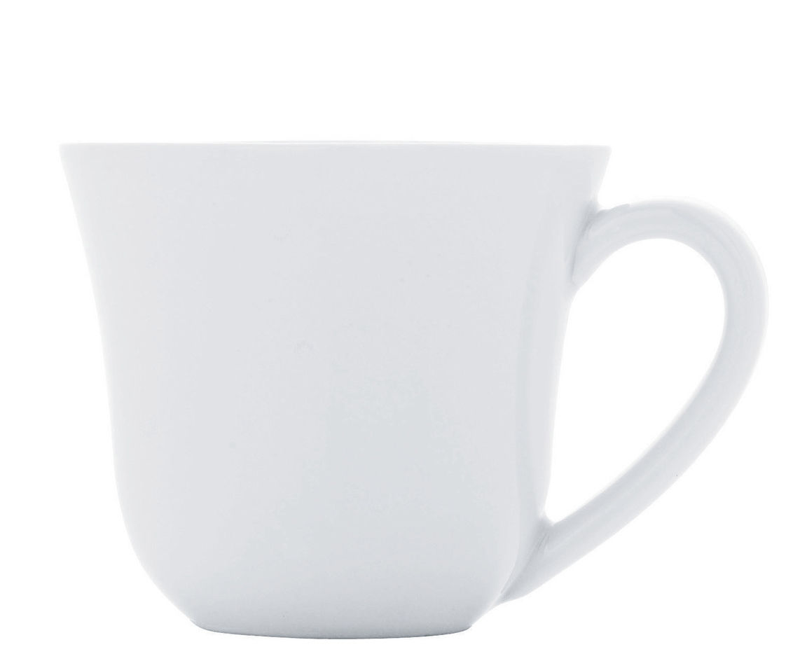 Arts de la table - Tasses et mugs - Tasse à moka Ku / 7 cl - Alessi - Tasse / Blanc - Porcelaine