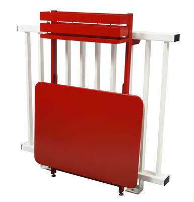 Balcon bistro tavolo pieghevole ribaltabile 77 x 64 for Tavolo pieghevole design