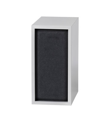 Furniture - Bookcases & Bookshelves - Acoustics board - For Small Stacked shelf - 43x21 cm by Muuto - Black - Felt