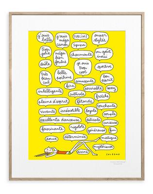 Déco - Stickers, papiers peints & posters - Affiche Soledad - Bulles / 30 x 40 cm - Image Republic - Bulles - Papier