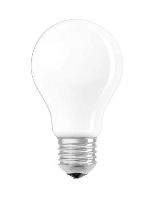 Ampoule LED E27 / Standard dépolie - 4W=40W (2700K, blanc chaud) - Osram blanc en verre