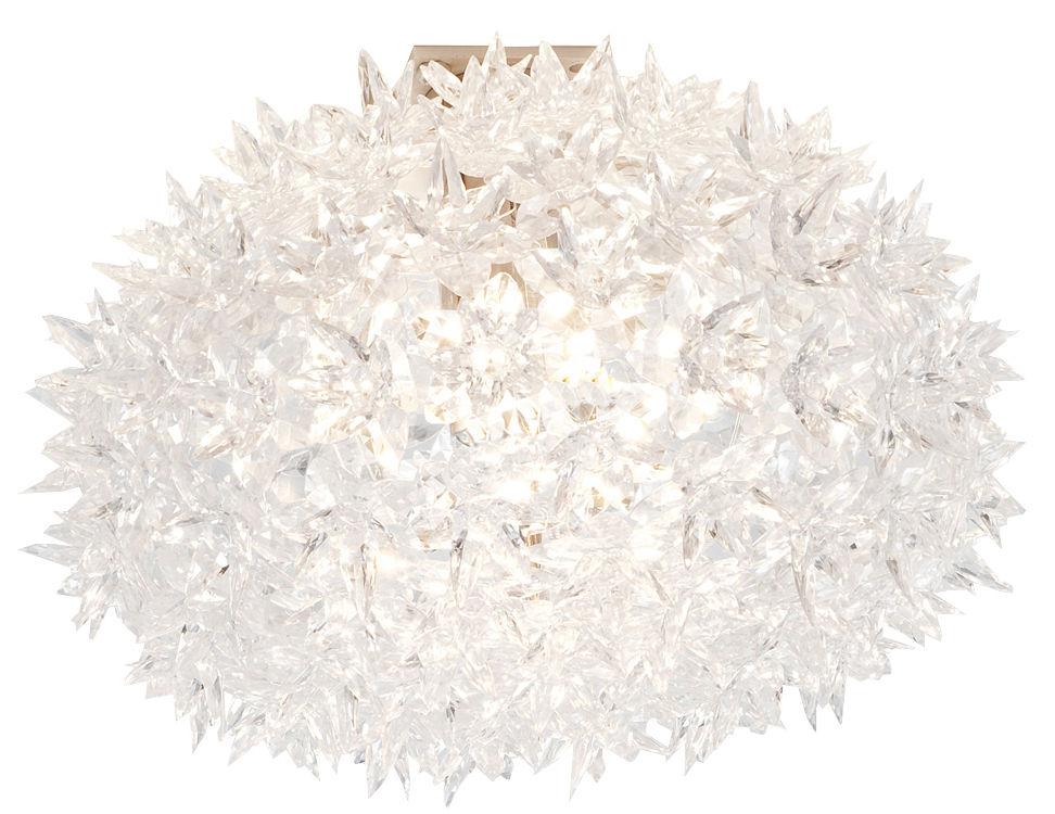 Illuminazione - Plafoniere - Applique Bloom di Kartell - Bianco - policarbonato