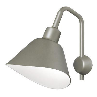 Applique Smash Large / Métal - L 42 x H 50 cm - Diesel with Foscarini gris en métal