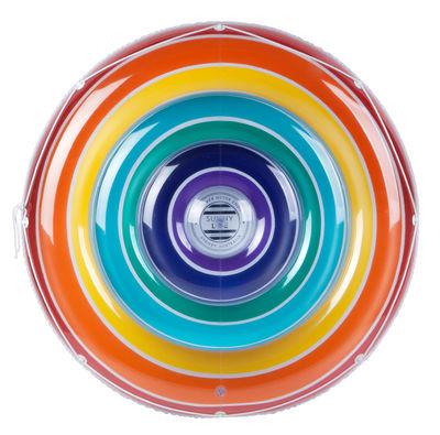 Interni - Per bambini - Boa gigante - / Arcobaleno - Ø 160 cm di Sunnylife - Multicolore - PVC haute résistance