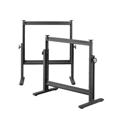 Möbel - Büromöbel - Brut Bock-Paar / verstellbar - Gusseisen - Magis - Schwarz - Gusseisen