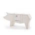 Buffet Sending animals Cochon 2.0 - / L 150 x H 76 cm di Seletti